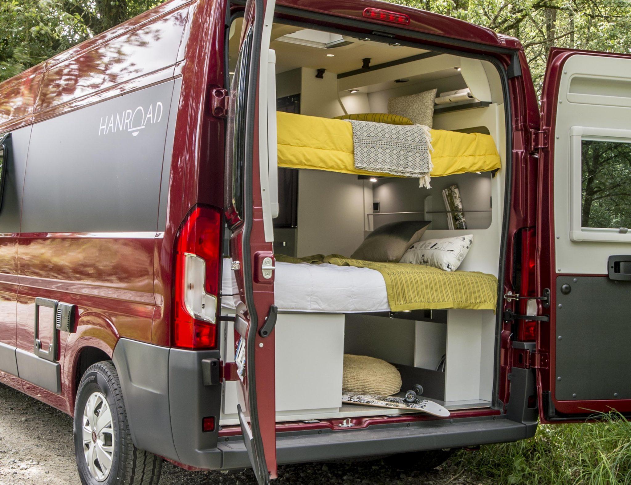 fourgon amenage hanroad. Black Bedroom Furniture Sets. Home Design Ideas