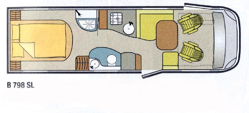 camping car occasion burstner integral lit central site de voiture. Black Bedroom Furniture Sets. Home Design Ideas